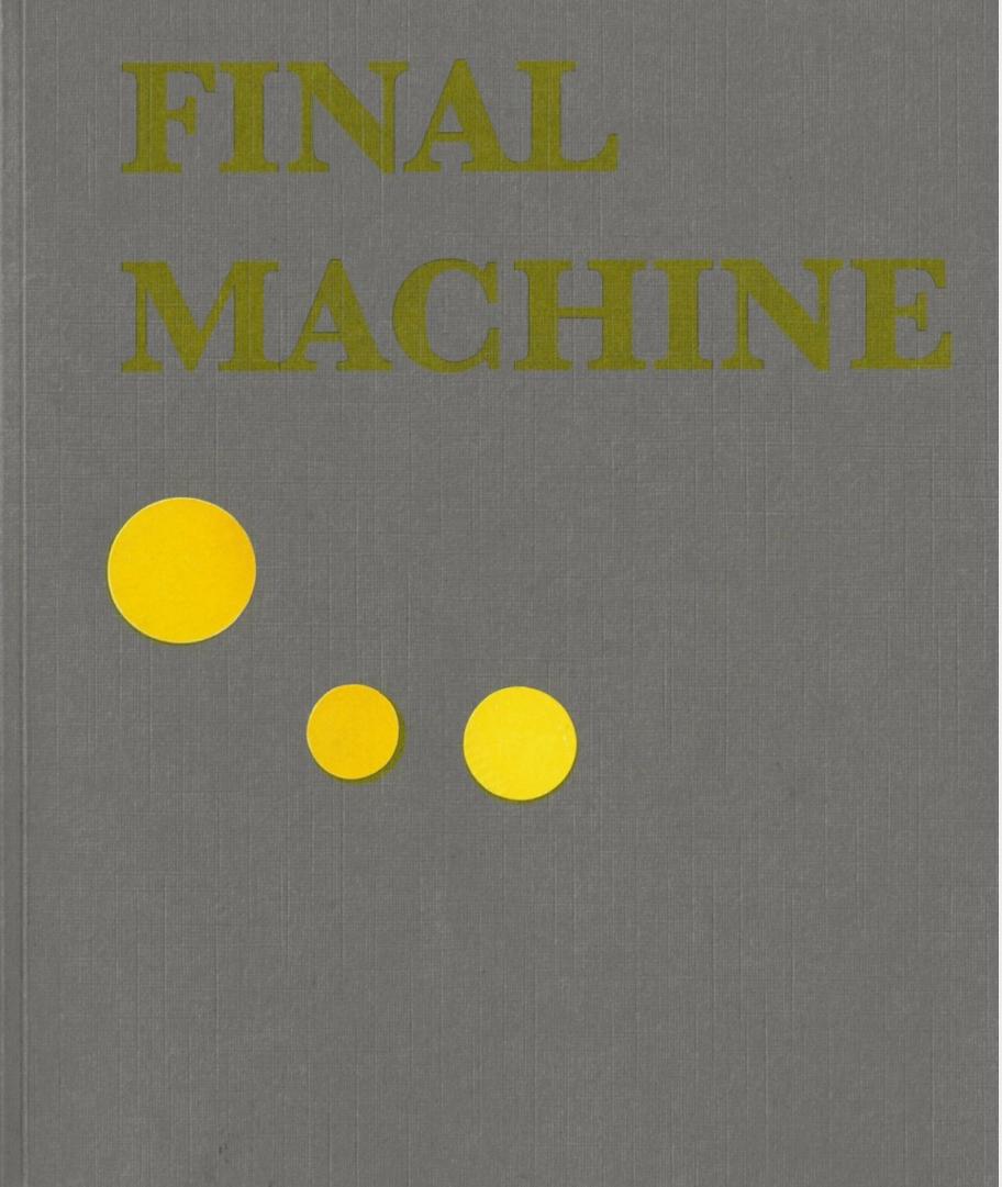 First Machine Final Machine cover (2)