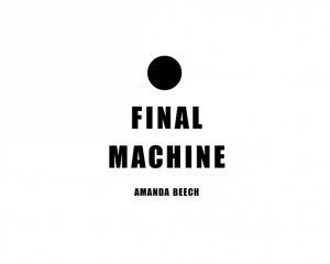 Amanda Beech, Final Machine Book Cover